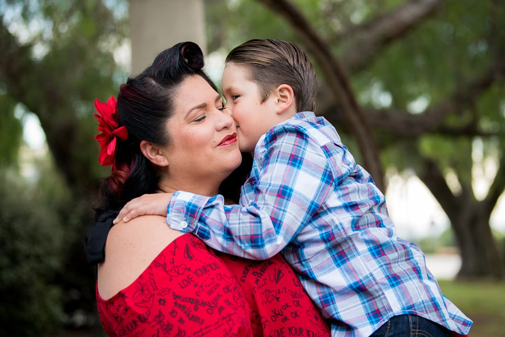 San Diego Family Photography, mother and son