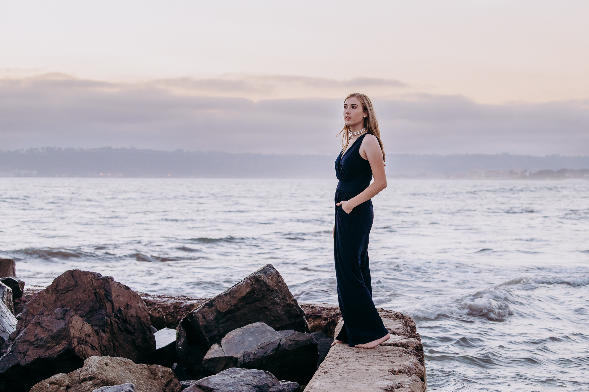 Senior Portrait at Coronado Beach