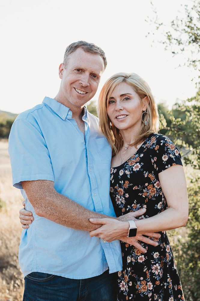 San Diego Couples Photography, woman in floral dress