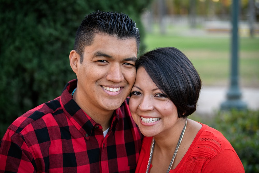 San Diego Couples Photography, couple in red