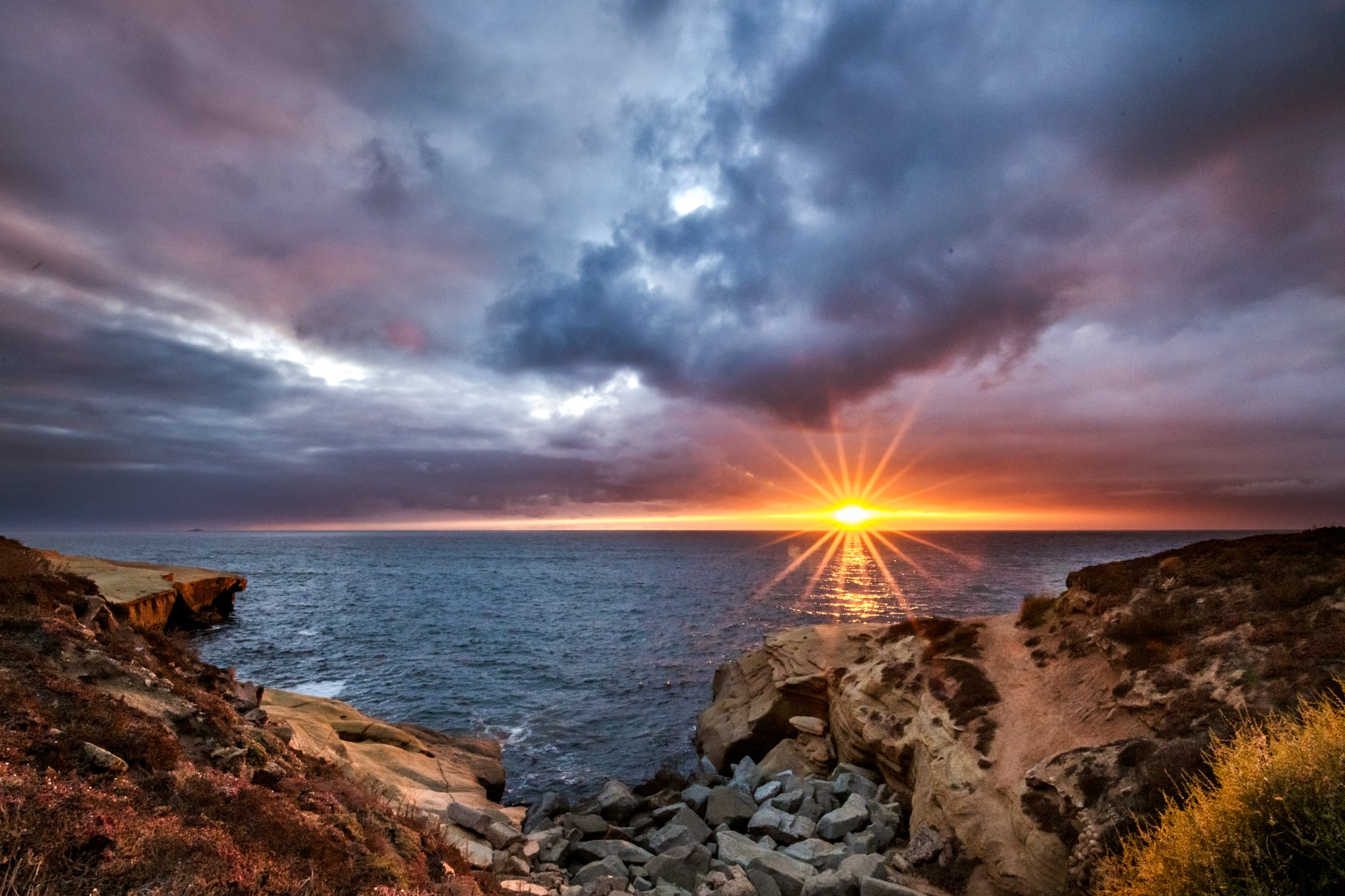 Sunset Cliffs Natural Park, San Diego Landscape Photography