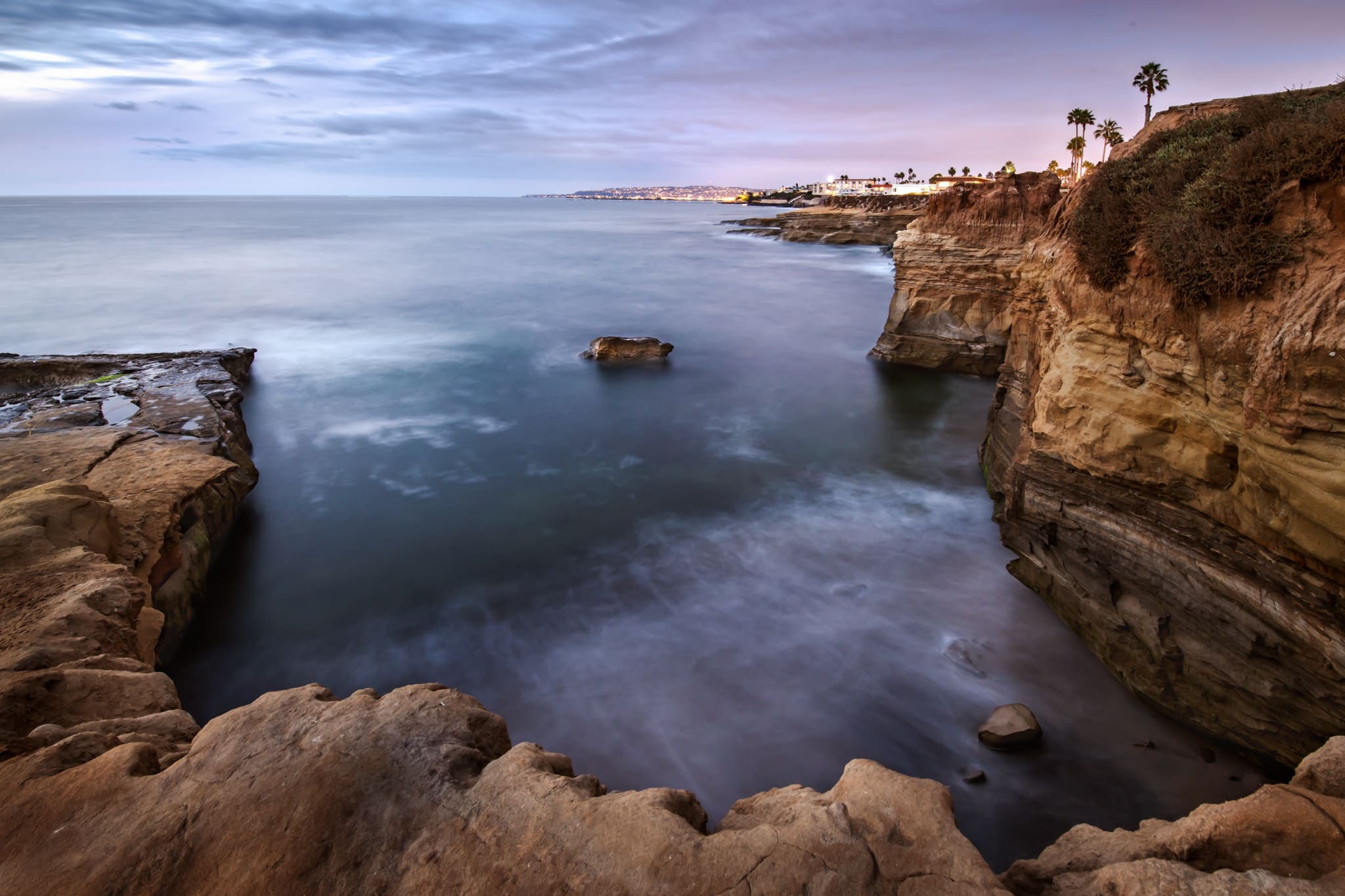 Sunset Cliffs San Diego Landscape Photo