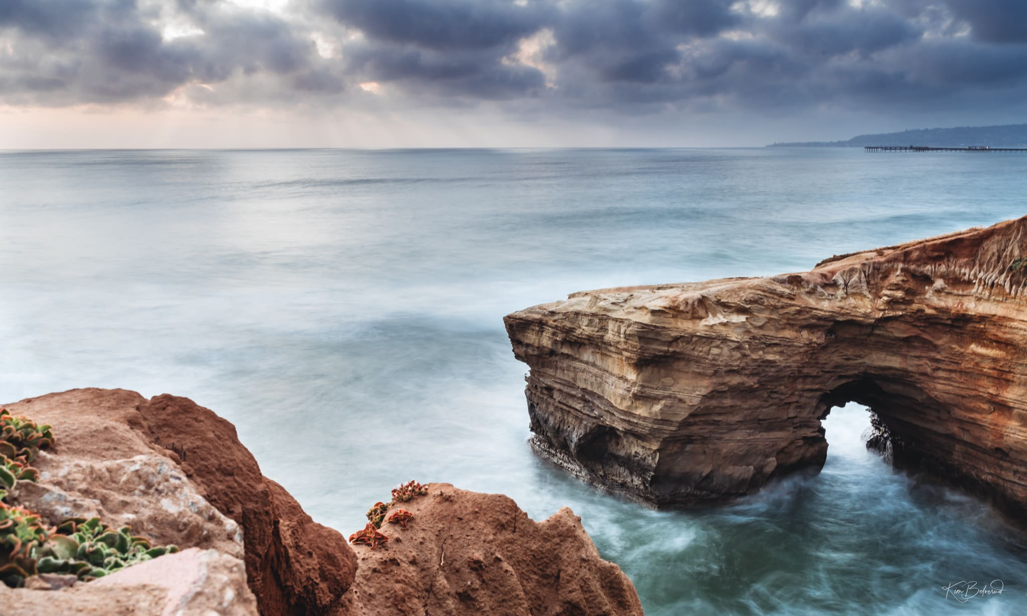 Sunset Cliffs Long Exposure San Diego Landscape Photography